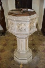 The late medieval font