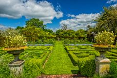 Helmingham Hall Gardens, The Parterre