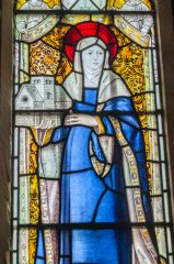 St Hilda stained glass