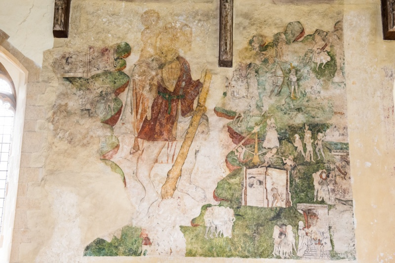 The St Christopher Wall Painting