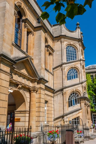 Hertford College photo, The Catte Street entrance into Old Quad