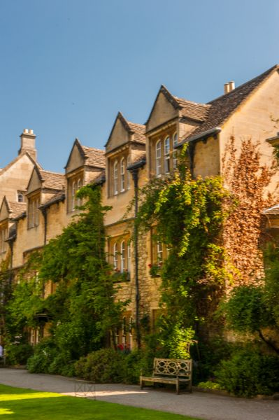 Hertford College photo, Student accommodation range in Old Quad