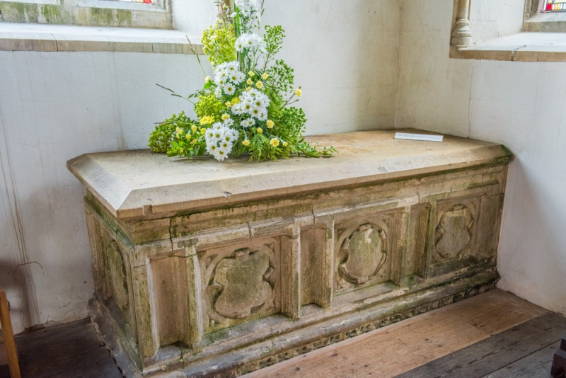 Sir William Wodehouse chest tomb
