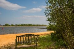 Hickling, A quiet bench looks over Hickling Broad