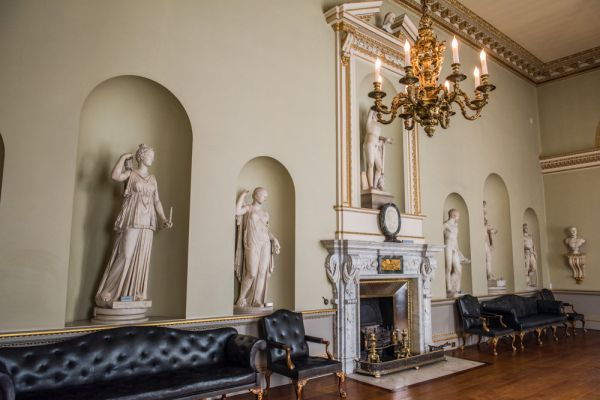 Holkham Hall photo, The statue gallery