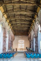 Holme Cultram Abbey, The abbey church interior