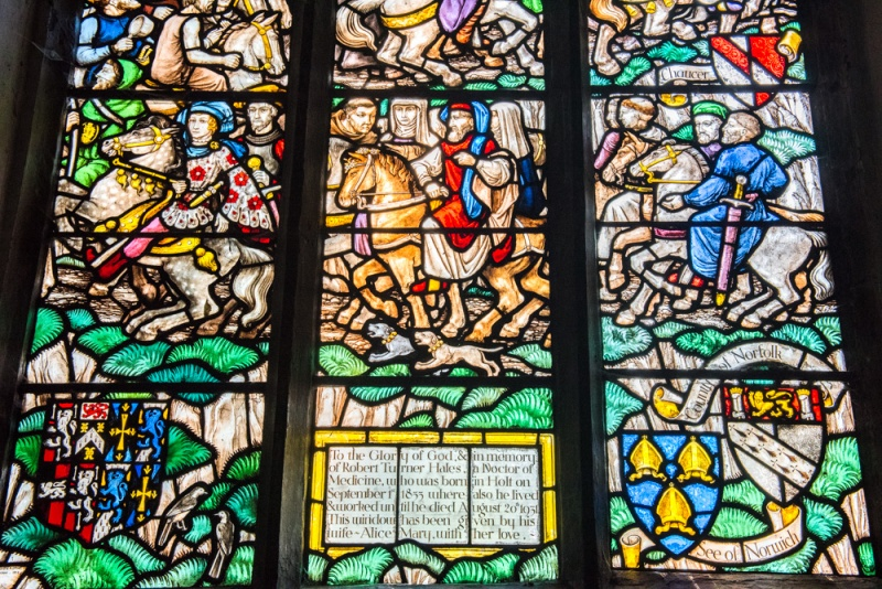 The Chaucer Window