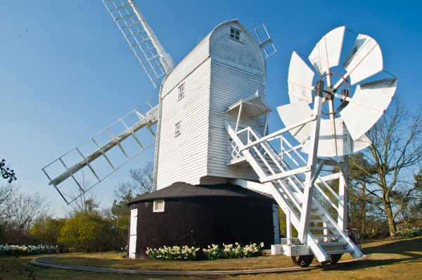 Holton Post Mill