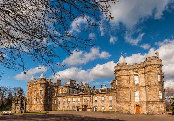 Edinburgh photo, The Palace of Holyroodhouse