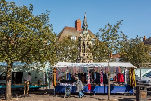 Market day in Horncastle, Lincolnshire