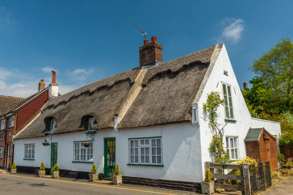 Horning photo, Thatched cottage on Lower Street