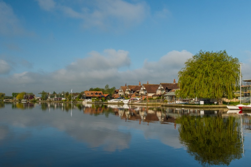 Early morning at Horning Staithe