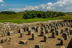 The large granary at Housesteads