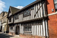 Ipswich, Timber-framed building on Northgate