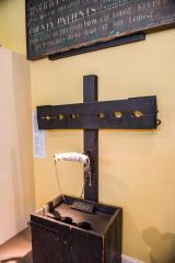 Ipswich Museum, Whipping post from the old Ipswich prison