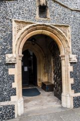 The 15th century porch