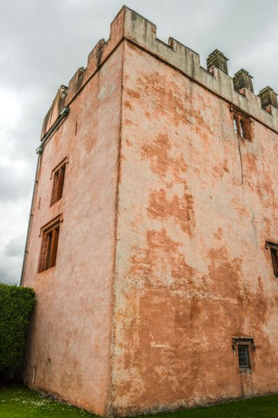 Isel Hall photo, The 14th century pele tower