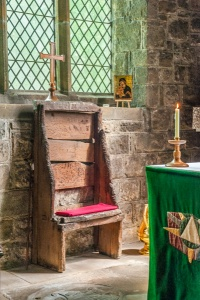 Bede's Chair at Jarrow, Tyne and Wear