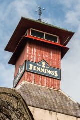 Jennings Brewery Tour, The iconic tower atop the brewery