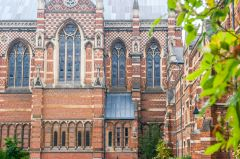 Keble College, Exterior of the Chapel
