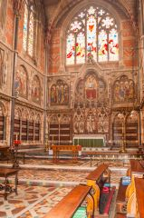 Keble College, In the chapel, looking east