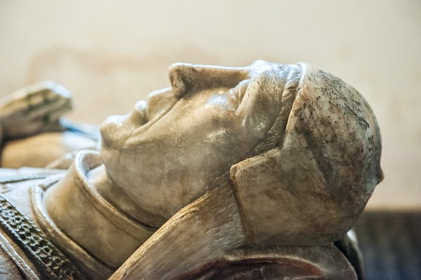 1450 effigy of Sir John Curzon