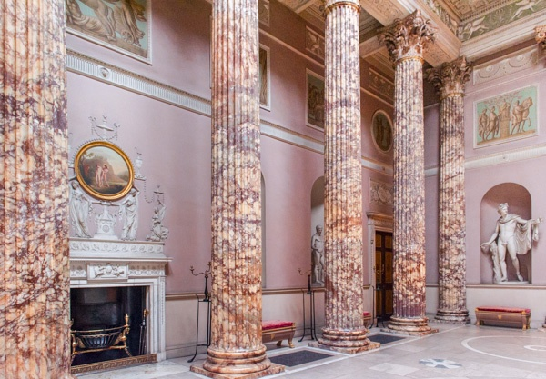 The Marble Hall at Kedleston Hall