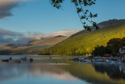 Loch Tay and Ben Lawers from Kenmore