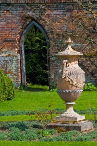The gardens at Kentwell