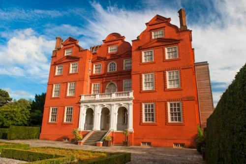 Kew Palace, rear facade