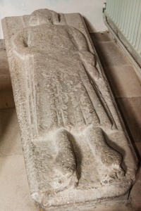 Medieval effigy, south transept