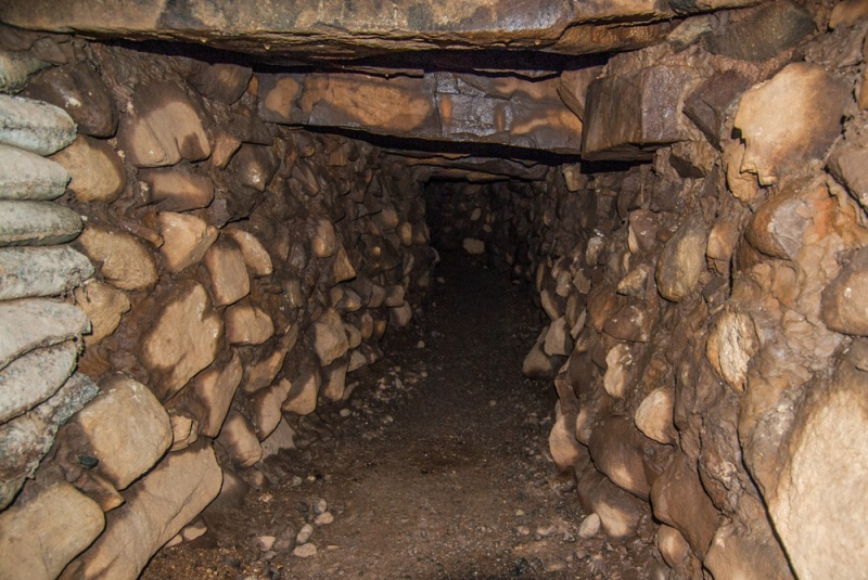 The souterrain passage