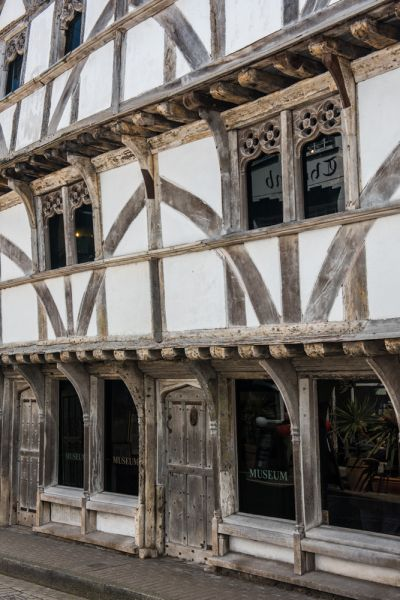 King John's Hunting Lodge photo, The timber-framed exterior