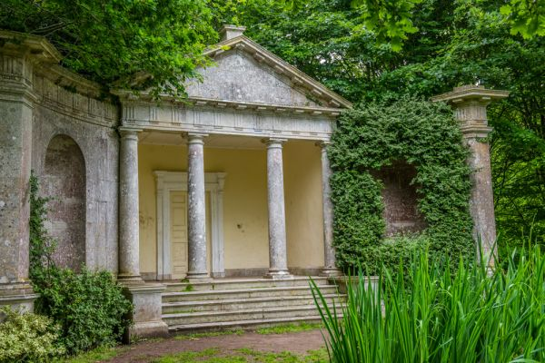 Kingston Maurward Gardens photo, The Lakeside Temple