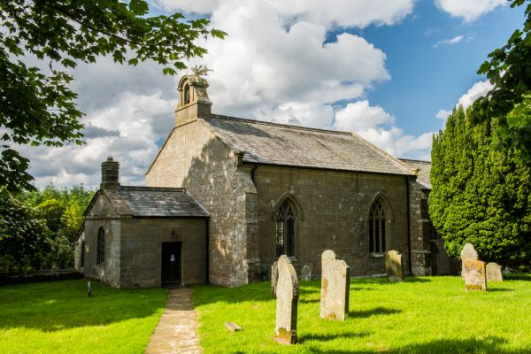 Kirkharle Hall photo, St Wilfrid's church