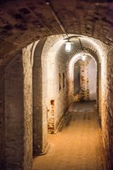 Landguard Fort, A narrow passage in the magazine area