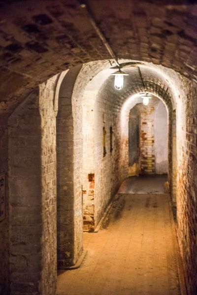 Landguard Fort photo, A narrow passage in the magazine area