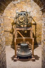 Landguard Fort, The 1747 Landguard Fort clock