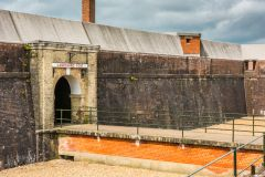 Landguard Fort, The fort entrance
