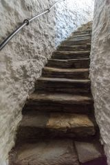 Launceston Castle, Internal stair set into the keep wall
