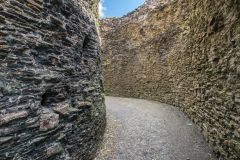 Launceston Castle, Inside the shell wall