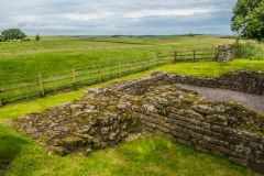 Leahill Turret and a section of Hadrian's Wall