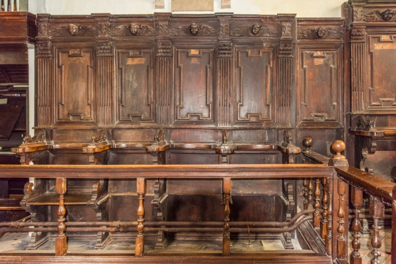 16th century Italian choir stalls