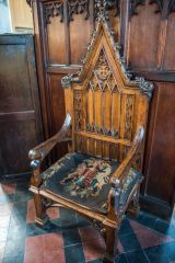The 1680 Mayor's chair