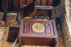The 1620 parish clock mechanism