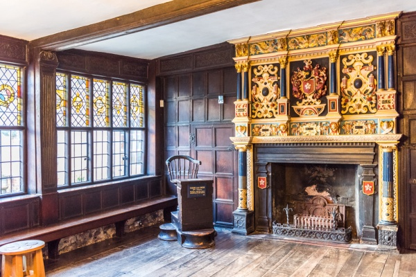 Mayor's Parlour, Leicester Guildhall