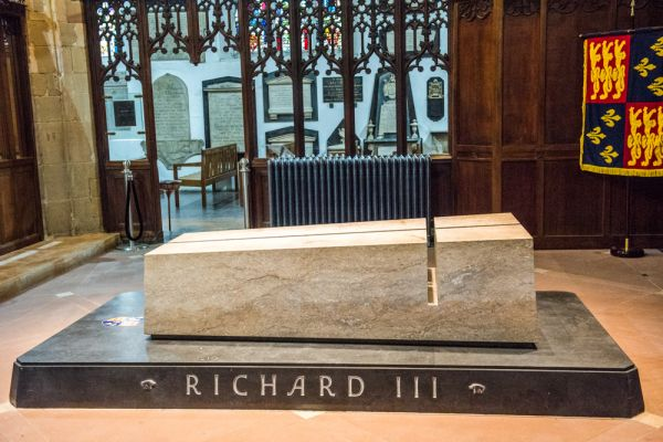 Richard III memorial, Leicester Cathedral