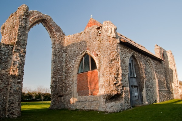 The Lady Chapel at Leiston Abbey
