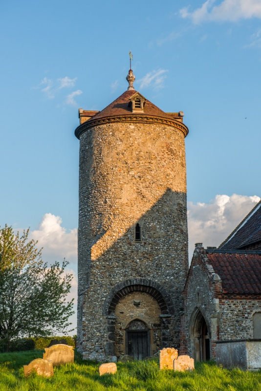 The late Saxon detached round tower