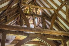 The medieval timber roof